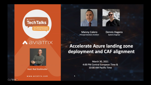 Accelerate Azure landing zone deployment and CAF alignment (EMEA)