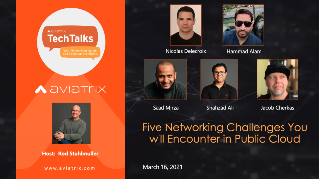 Five Networking Challenges You will Encounter in Public Cloud