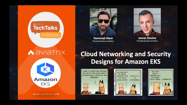 Cloud Networking and Security Designs for Amazon EKS