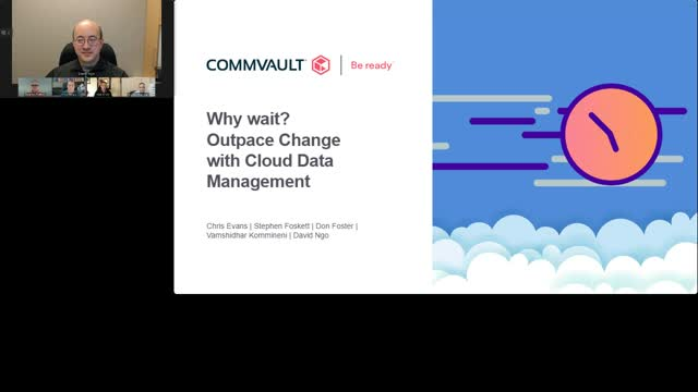 Why wait? Outpace change with Cloud Data Management