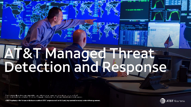 How to help protect your organization with Managed Threat Detection and Response