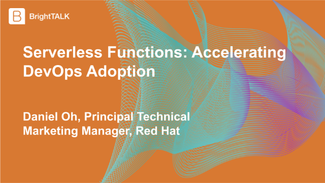 Serverless Functions: Accelerating DevOps Adoption