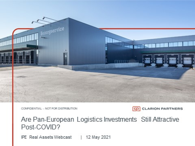 Are Pan-European Logistics Investments Still Attractive Post-COVID?