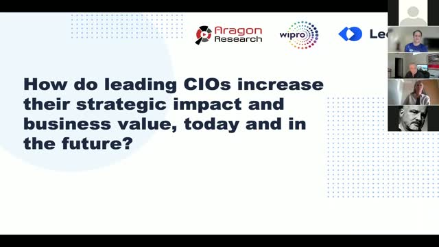 How Do Leading CIOs Increase their Strategic Impact