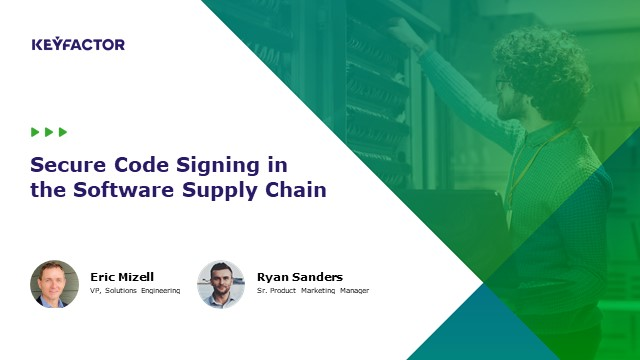 Secure Code Signing in the Software Supply Chain