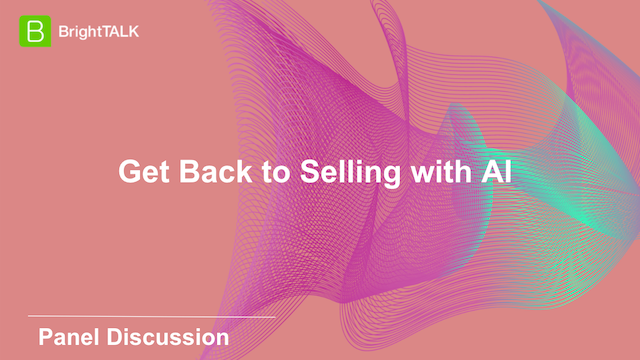 Get Back to Selling with AI