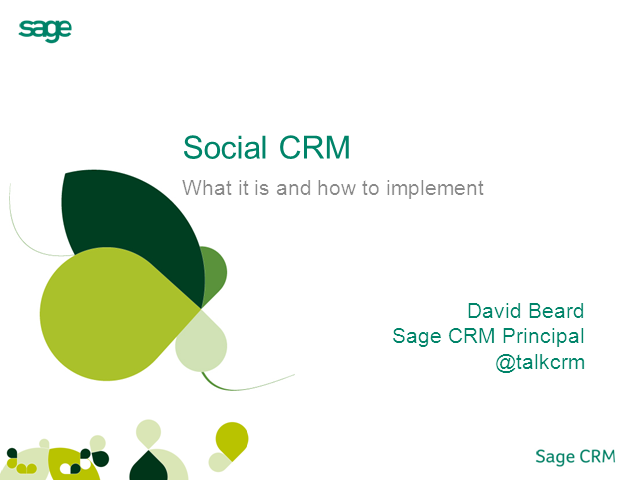 Social CRM: What is it, and how can I implement it with CRM?