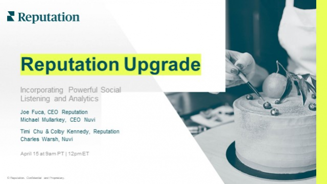 Reputation Upgrade: Incorporating Powerful Social Listening and Analytics