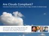 Panel Session : Are Clouds Compliant?