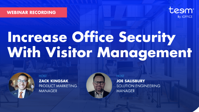 Increase Office Security with Visitor Management