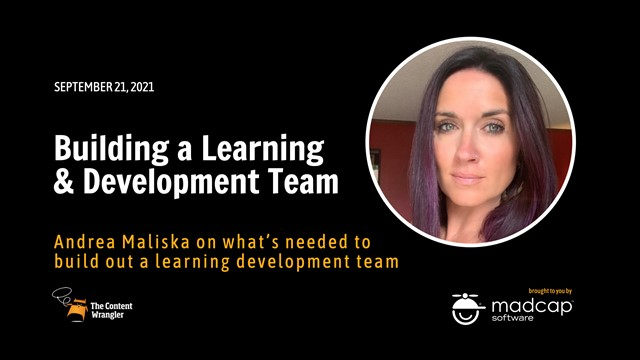 Building a Learning & Development Team