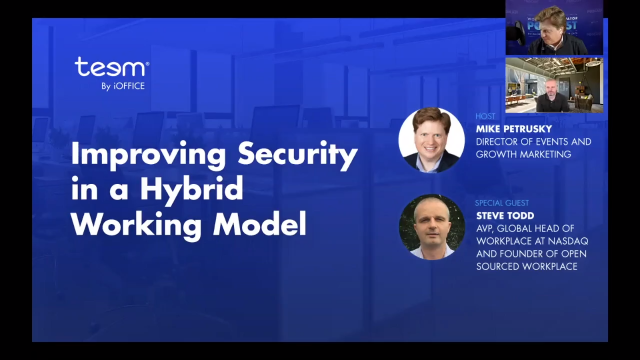 Improving Security in a Hybrid Working Model