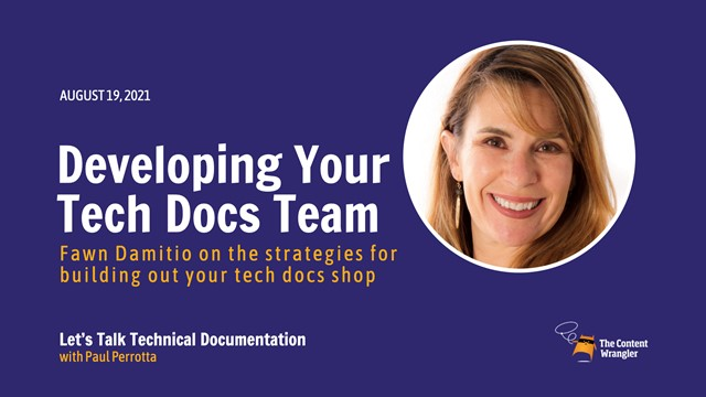 Developing Your Technical Documentation Team