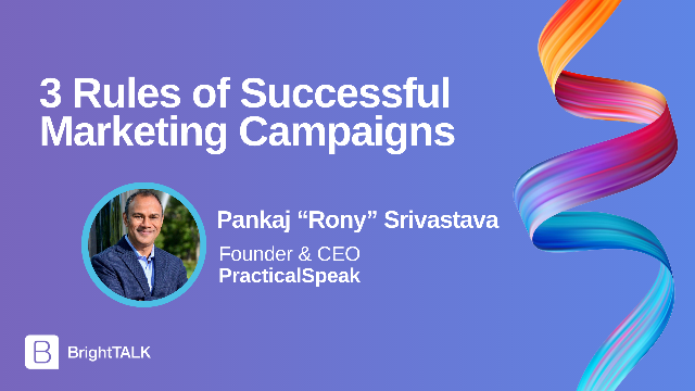 3 Rules of Successful Marketing Campaigns