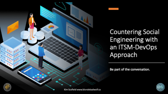 Countering Social Engineering with an ITSM-DevOps Approach