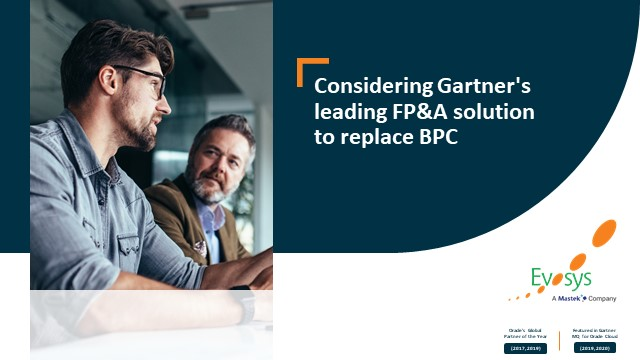 Worried about BPC? Have You Considered Gartner MQ's Leading FP&A Solution?