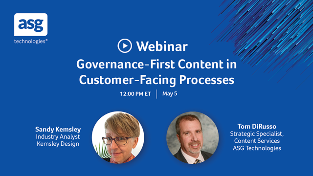 Governance-First Content in Customer-Facing Processes