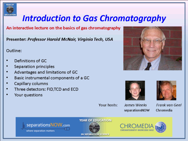 Introduction to Gas Chromatography
