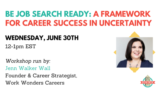 Be Job Search Ready: A Framework for Career Success in Uncertainty