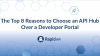 Discovery to Analytics: The Top 8 Reasons to Choose an API Hub Over a Dev Portal