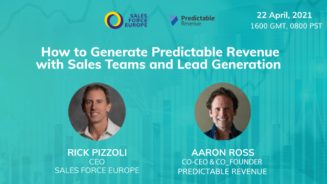 How to Generate Predictable Revenue with Sales Teams and Lead Generation