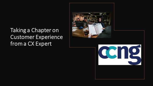 Taking a Chapter on Customer Experience from a CX Expert