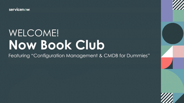 Now Book Club featuring CMDB