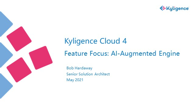 Kyligence Cloud 4 - Feature Focus: AI-Augmented Engine