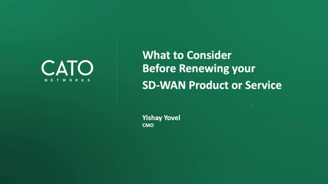 What to Consider Before Renewing your SD-WAN Product or Service Contract