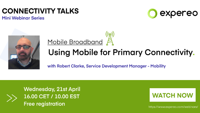 Mobile Broadband | Using Mobile for Primary Connectivity