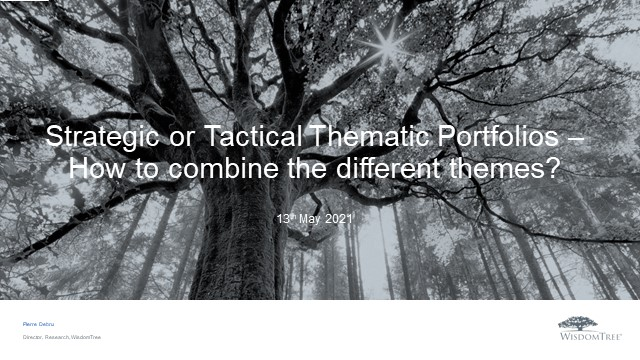 Thematic Investing Series 3: Strategic or tactical thematic portfolios