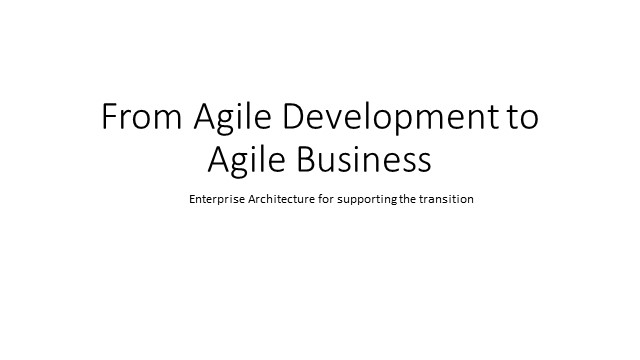 WealthTech Talks: From Agile Development to Agile Business