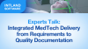 Integrated MedTech Delivery from Requirements to Quality Documentation