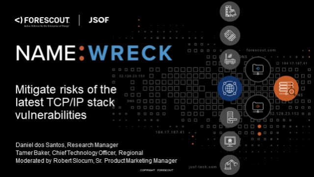 NAME: WRECK – Mitigate Risks of the Latest TCP/IP Vulnerabilities