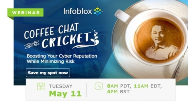 Coffee Chat with Cricket-Boosting Your Cyber Reputation While Minimizing Risk