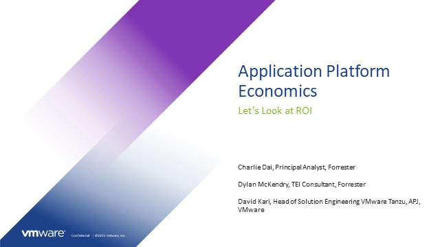 Application Platform Economics - Let's Look at ROI