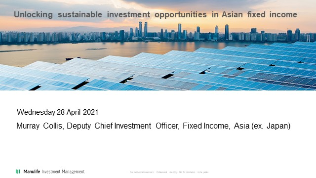 Unlocking sustainable investment opportunities in Asian fixed income
