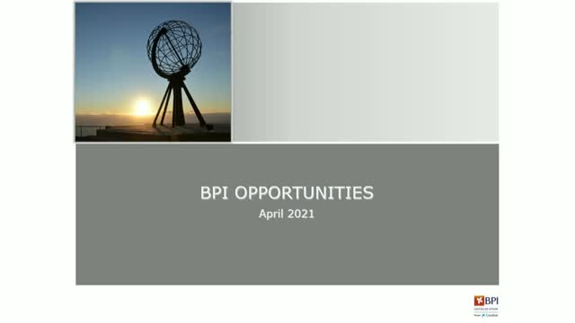 BPI Opportunities 1Q 2021 - Beyond volatility: stay the course