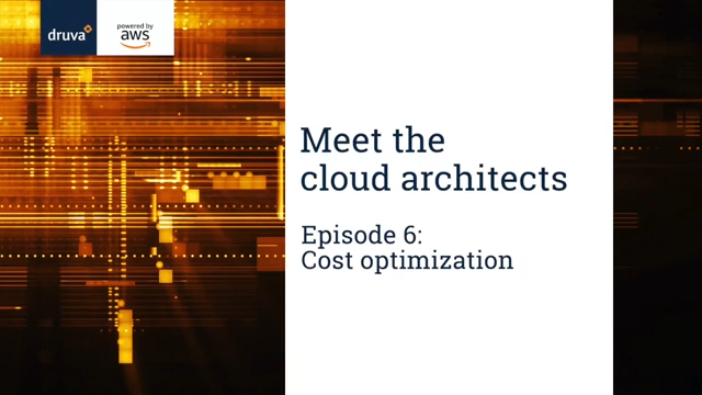 Meet the cloud architects - Episode 6 - Cost Optimisation