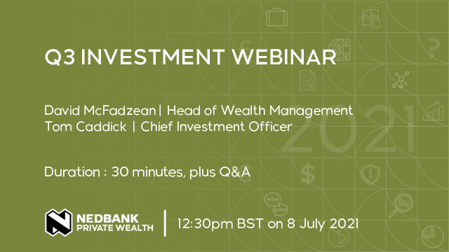 Quarter end investment webinar: what's happening with inflation?