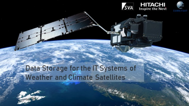 Data storage for the IT Systems of Weather and Climate Satellites