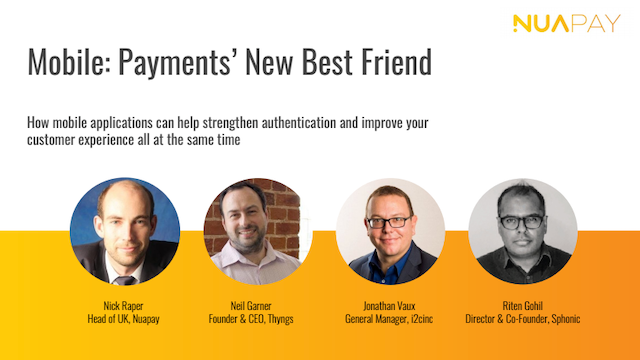 Mobile: Payments' New Best Friend