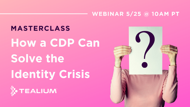 How a CDP Can Solve the Identity Crisis