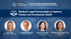Medical-Legal Partnerships to Improve Patient and Community Health