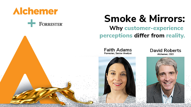 Smoke & Mirrors: Why customer-experience perceptions differ from reality.