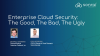 Enterprise Cloud Security: The Good, The Bad, The Ugly