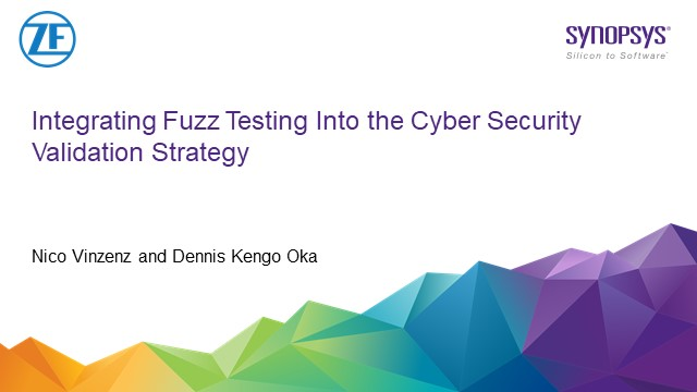Integrating Fuzz Testing into the Cybersecurity Validation Strategy