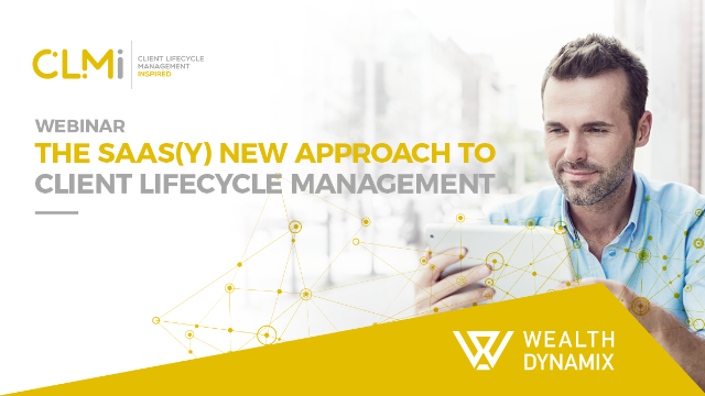 The SaaS(y) New Approach to Client Lifecycle Management: The Race is On