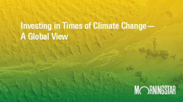 Investing in Times of Climate Change - A Global View