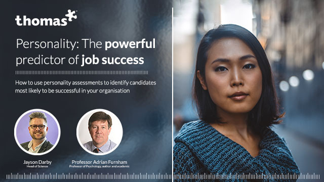 Personality: the powerful predictor of success